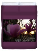 Tulips At Sunset I Duvet Cover