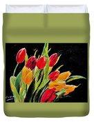 Tulips Colors Duvet Cover