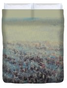 Tulips Dance Abstract 3 Duvet Cover