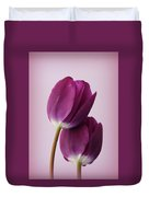 Tulips Duvet Cover by Diane Reed