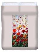 Tulips Flowers Garden Seria Duvet Cover