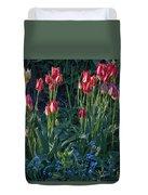 Tulips In Sunshine Duvet Cover
