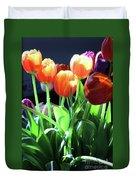 Tulips In The Light Duvet Cover
