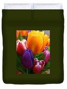 Tulips Smiling Duvet Cover
