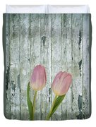 Tulips Two Duvet Cover