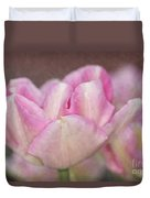 Tulips With Texture Duvet Cover