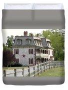 Tulpehocken Manor Plantation Historic Site  Duvet Cover