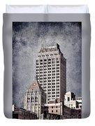 Tulsa Art Deco I Duvet Cover by Tamyra Ayles
