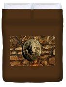 Tulsa Rose Garden Lion Fountain #1 Duvet Cover