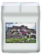 Tulum Temple Ruins No.2 Duvet Cover