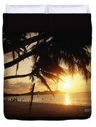 Tumon Bay Duvet Cover