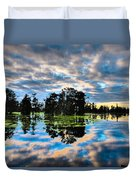 Tumultuous Swamp Duvet Cover