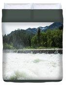 Tumwater Dam Duvet Cover