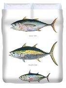 Tuna Fishes Duvet Cover