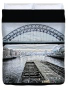 Tyne Bridge, Newcastle Duvet Cover