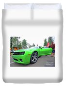 Tuned Chevrolet Duvet Cover