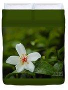 Tung Flower On Tea Tree Duvet Cover