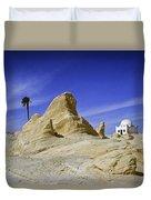 Tunisian Desertscape Duvet Cover