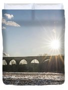 Tunkhannock Viaduct Duvet Cover
