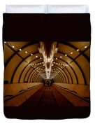 Tunnel Abstract Duvet Cover