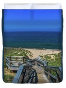 Tunnel Park Holland Michigan Duvet Cover