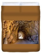 Tunnel Route 4nm Duvet Cover