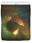 Tunnel Stretching Into The Distance Duvet Cover