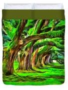 Tunnel Tree Duvet Cover