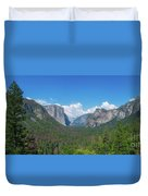 Tunnel View Panorama  Duvet Cover