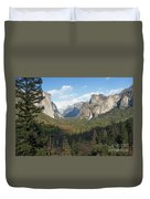 Tunnel View Shadow Duvet Cover