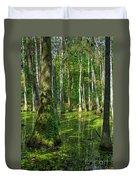 Tupelo Trees In Mississippi  Duvet Cover