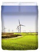 Turbine Fields Duvet Cover