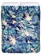Turbo Turquoise  Duvet Cover