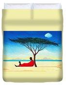 Turkana Afternoon Duvet Cover