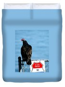 Turkey Buzzard Duvet Cover