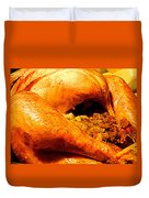 Turkey Time Duvet Cover