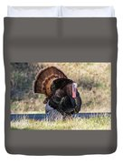 Turkey Tom Struts Duvet Cover