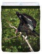 Turkey Vulture Duvet Cover