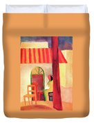 Turkish Cafe By August Macke Duvet Cover