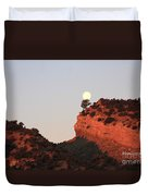Turk's Moon Duvet Cover