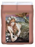 Turn Loose The Mermaid Duvet Cover