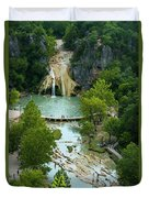 Turner Falls Grand View Two Duvet Cover