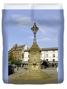 Turner's Memorial At Buxton Duvet Cover