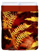 Turning To Autumn Duvet Cover