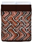 Turns And Curves Duvet Cover