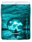 Turquoise Dreams Duvet Cover
