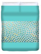 turquoise meets green P2 Duvet Cover