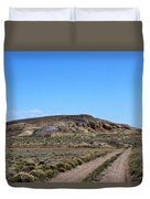 Turquoise Mine Off Hwy 142 2 Duvet Cover