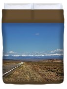 Turquoise Mine Off Hwy 142 Duvet Cover
