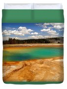 Turquoise Pool  Duvet Cover